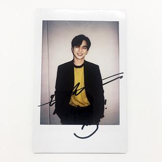【応募終了】ユ・スンホさんの直筆サイン入りインスタント写真を1名様にプレゼント!