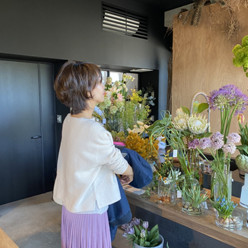 花とアートに癒された日