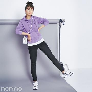 スタイリスト発ブランド「ノーク」の黒スキニーが超美脚ってウワサ!