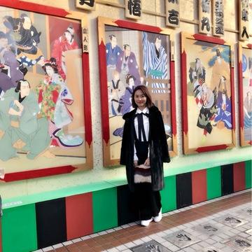 浅草歌舞伎と観劇ファッション☆