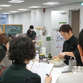 ◆ランチタイムの料理教室「EATALK Office」
