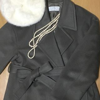 Plageのロング丈コートで冬を乗り切る