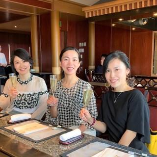 美女組さんと♪鉄板焼き「恵比寿」ウエスティンホテル東京へ