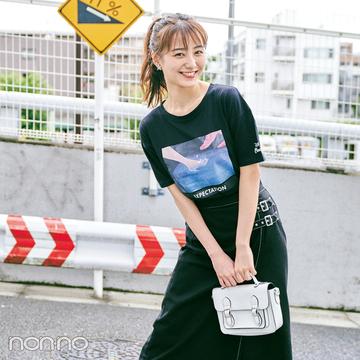 前髪を作っておしゃれ度増し増し♡ 高田里穂の夏私服&メイク
