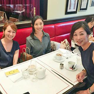 初、美女組同期会! Brasserie VIRON 丸の内店にて
