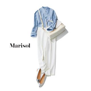 白パンツコーデ実例集。大人の清潔感と洗練をもたらす白をセンスよく着こなして