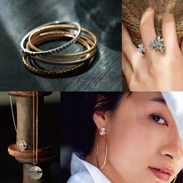 ピアス、ネックレス、指輪で大人の装いにリュクス感を!シャネル、エルメス、ショーメなど人気ブランドの新作勢揃い