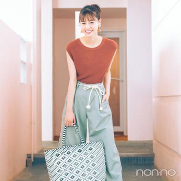 暑くてもおしゃれ♡ 西野七瀬の涼しげミントカラーコーデ4選!