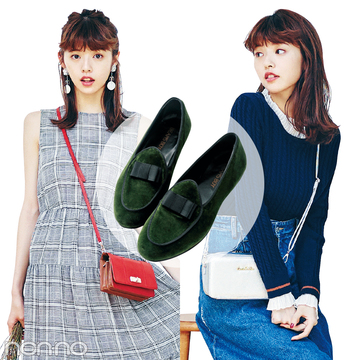 秋を取り入れるなら、ベロア素材の靴♡ 着回しコーデ&カタログつき!