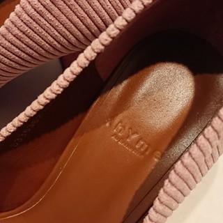 足元の秋支度。~thYmeの靴でパープルを~_1_2-2