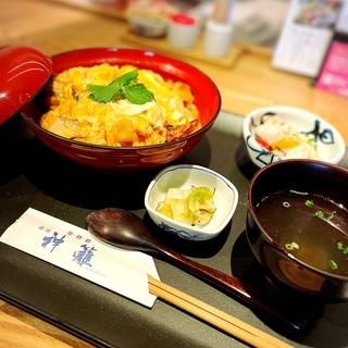 【銀座ランチ】ふわとろ親子丼は銀座神籬<ひもろぎ>で♡