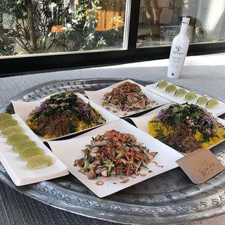 今日の撮影のケータリングは学芸大学にあるスタンドバインミーのベトナム料理♡