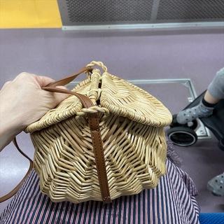 """今年のかごバッグは""""tsuru by marikooikawa""""で_1_4"""
