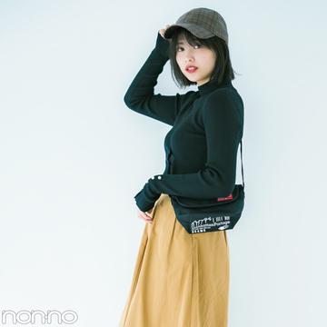 渡邉理佐の女子っぽスニーカーコーデ、11月はコレ!