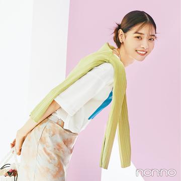 【西野七瀬のご機嫌な春服】お気に入りのワイドパンツ、ハンサムなセットアップ