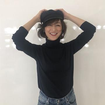 [富岡佳子private life] 表紙撮影
