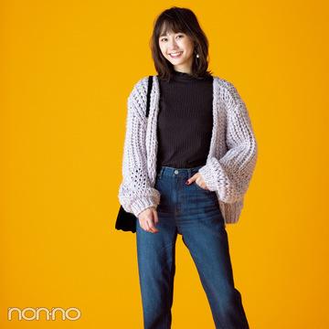 クリスマスデートに使える♡ この冬最強・GUのモテるスカート&デニム4選!
