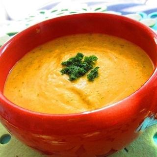 食物繊維とビタミンで美しく♪濃厚かぼちゃスープレシピ