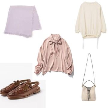 【50代の春ファッション】今から取り入れる春色・春素材アイテムをチェック!