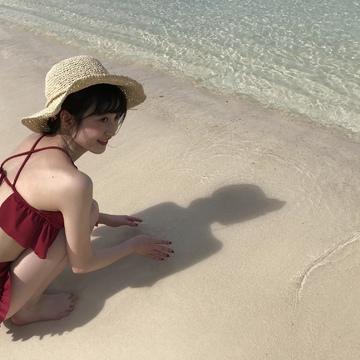 【グアム旅行④】3日目❁映えを狙うならやっぱりビーチ!