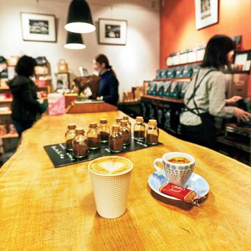 コーヒー好きにはたまらない Boutique Coffee VOILA 鹿児島店
