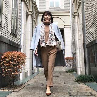 40代こそ『きれい色コート』で差をつける‼エレガントな印象美人に