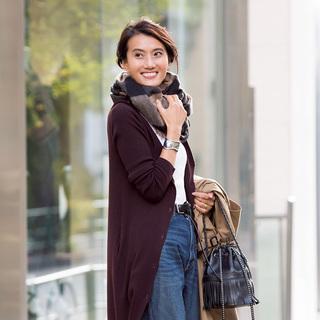 〝パンツなのに女っぽい〟の秘密。エディター坪田あさみさん【東京ファッションSNAP】