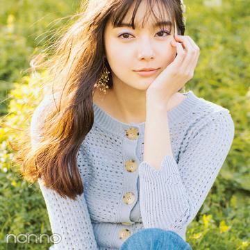 新川優愛の最新春デニムコーデ♡ 今季は+透かし編みニットが可愛い!