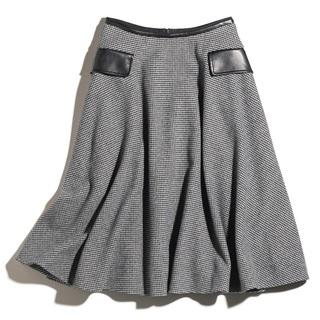 ほんのり辛口アクセントのスカート【ファッション名品】