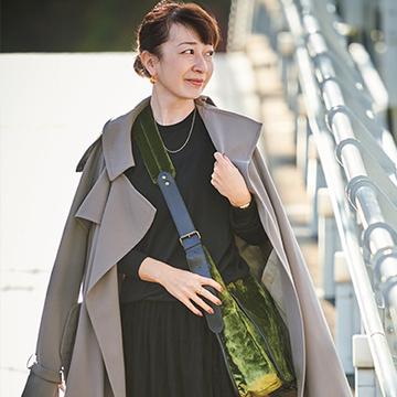 スタイリスト・徳原文子さんの今シーズンのキーアイテムは?<おしゃれプロのほめられ冬アイテム>
