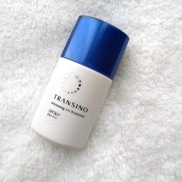 トランシーノの新作日焼け止めは、乳液、美白、下地とマルチ機能。