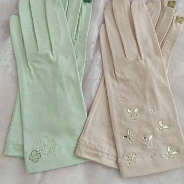春色UVカット手袋