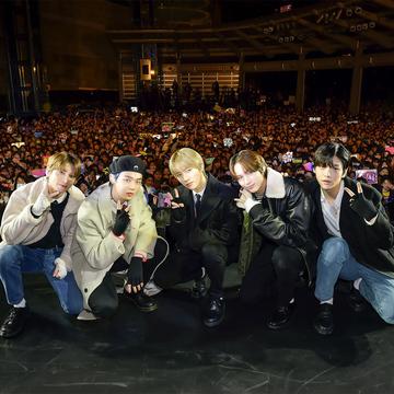 TOMORROW X TOGETHERが日本デビューシングル発売イベントを開催!