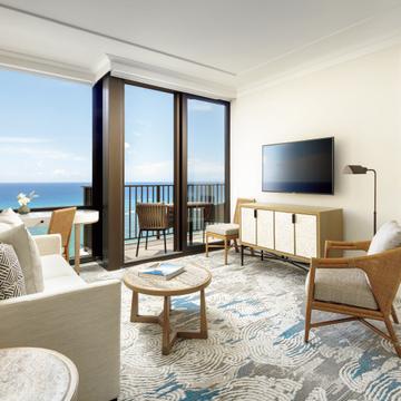 優雅な雰囲気を受け継ぐハワイのホテル『ハレプナ ワイキキ バイ ハレクラニ』