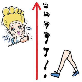 """歩き方の改善で、疲れにくい足を作ろう!【夏の""""ナマ足問題""""】"""