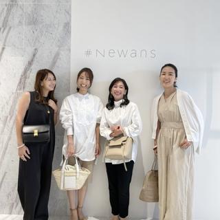 デザイナーがいないブランド#Newansの受注会へ