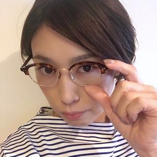 なりたい自分になれる「女っぷりメガネ」を着回す☆_1_2
