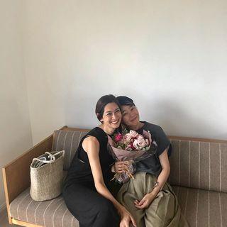 今日はスタイリスト村山佳世子さんのお誕生