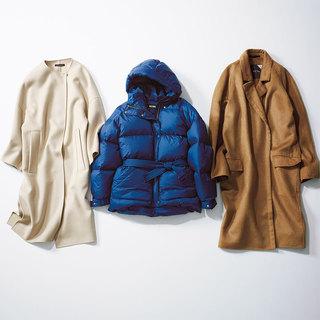 冬の着こなしを決めるアイテム「コート」をどう選ぶ? 3大女っぷりスタイル別着こなし