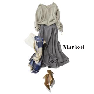 ソフールのフレアスカートは、左右非対称デザインが洗練のカギ【番外編】