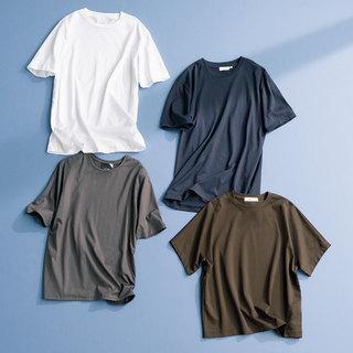 丸みが気になる小麦肌スタイリスト池田メグミさんが選ぶTシャツ4枚