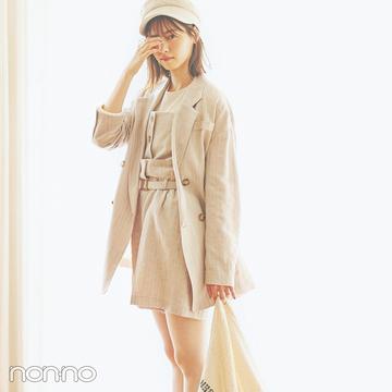 西野七瀬の進化系ブラウンコーデ♡ ワントーンが今っぽい!