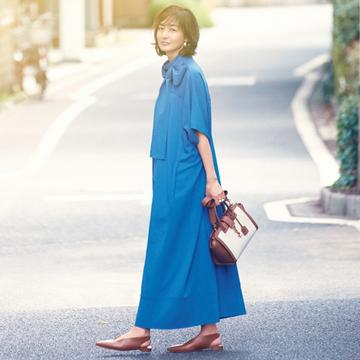【富岡佳子のプライベートスタイル】あえてゼロに戻って、新たな挑戦をすることを大切に
