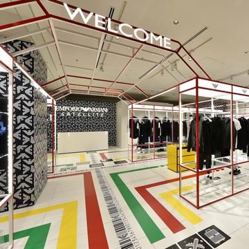 「エンポリオ アルマーニ サテライト」が渋谷スクランブルスクエアに誕生! 限定カプセルコレクションも登場