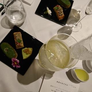 日本茶×アルコールで、日本茶をぐぅーんと華やかに!