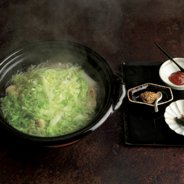 鶏肉とキャベツの鍋
