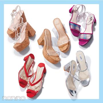 サンダル2019★ トレンドのクリアサンダルに靴下を合わせるってアリ?