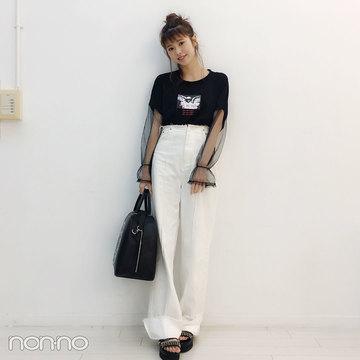 鈴木優華のプチ旅コーデはサマンサベガのバッグが相棒♡【モデルの私服スナップ】