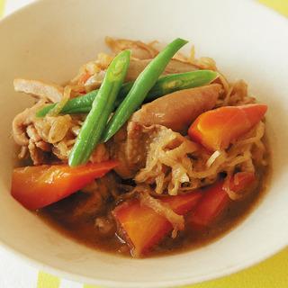 体を温め&代謝もアップ! 鶏肉と根菜の炒め煮