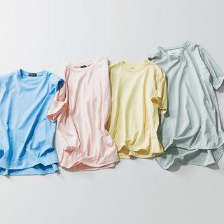可愛げカラーはきれいめ服に映えるんです!仕事を頑張る日こそ「パステルT」のすすめ